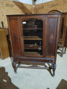 "CHINA CABINET, approx. 44""x16""x62"""