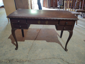 "WRITING DESK, approx. 46"" x 21"" x 30"""