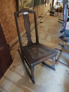 SMALL VINTAGE ROCKING CHAIR