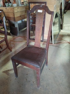 VINTAGE CHAIR WITH PADDED SEAT