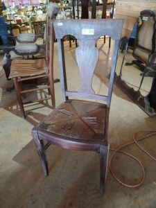 VINTAGE CHAIR WITH INSERT