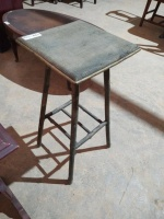 SMALL SIDE TABLE; 13x13x28 - 2