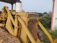 Komatsu Dozer (believed to be a 1970's model and it does run) - 6