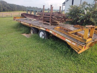 12-Ton Backhoe Pro Equipment Trailer with multi-max suspension