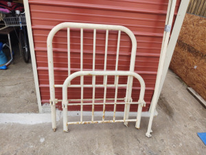 Vintage Iron Twin Size Bed