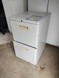 2-Drawer Metal Filing Cabinet