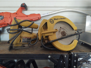 Black & Decker Jig Saw & Circular Saw