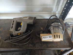 Electric Staple Gun & Drill