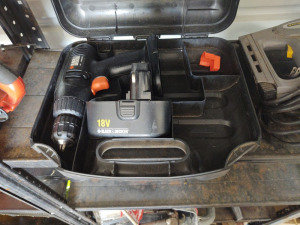 Black & Decker Battery Powered Drill (no charger)