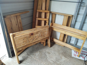 Western Themed Twin Size Bunk Beds