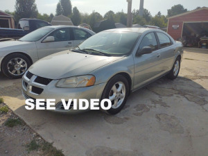 2006 Dodge Stratus; VIN# 1B3EL46R66N195187; 173,799 MILES; Buyer will pay taxes at the courthouse