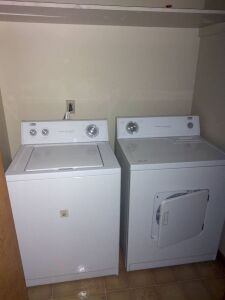 Estate Heavy Duty Washing Machine & Dryer