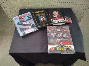 NASCAR COFFEE TABLE BOOKS FEATURING DALE EARNHARDT, SR.