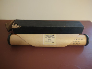 PIANOSTYLE WORD ROLL (IN ORIGINAL BOX)
