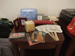 MONTHLY GREETING CARD ORGANIZER, POST CARDS, PICTURE FRAMES & MORE