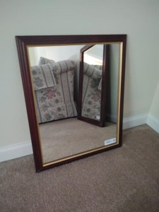 "FRAMED MIRROR (22.5"" X 18.5"")"