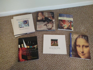 ASSORTMENT OF COFFEE TABLE BOOKS