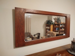 "VINTAGE FRAMED MIRROR (50"" X 22.5"")"