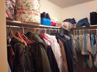 Contents Of Walk-In Closet