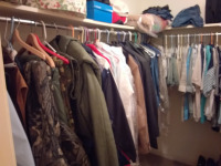 Contents Of Walk-In Closet - 2