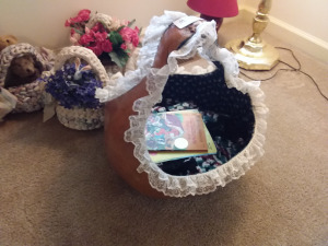 Baskets With Floral Arrangements & Teddy Bears