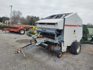 NEW IDEA 486 BALER WITH MONITOR