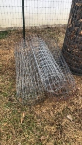 "250""± Of Net Wire Fencing"
