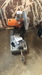 "Chicago Electric 1/4"" Cut Off Saw"