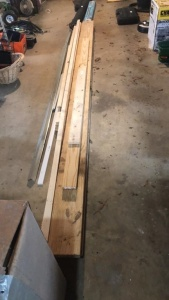 (3) 2x8x12 Boards & Miscellaneous Lumber