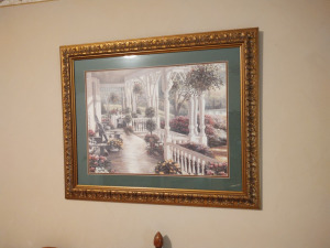 Beautiful Framed & Matted Print