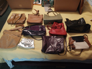 Assortment Of Handbags & Purses