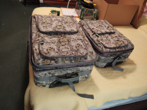 2-Piece Gloria Vanderbilt Luggage Set