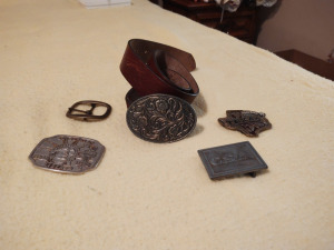 Assortment Of Belt Buckles