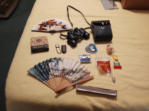 Vintage Binoculars, Fans, Marlboro Lighter, Happy Meal Tray & More