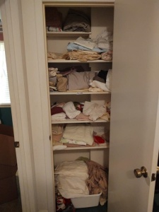 Contents Of Hallway Linen Closet