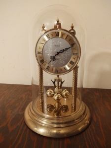 Dunhaven Domed Mantle Clock (made in West Germany)