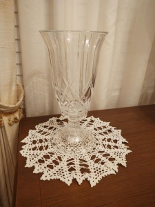 Crystal Hurricane 2-Piece Candle Holder
