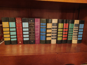 Collection Of Readers Digest Condensed Books