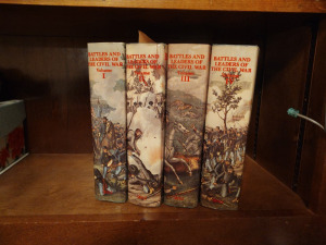 """Battles & Leaders Of The Civil Ware"", Volumes 1 - 4"