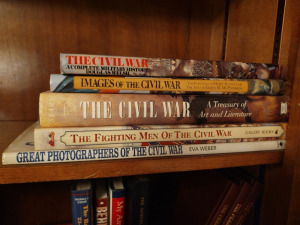 Assorted Civil War Themed Books