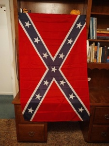 Nylon Confederate Flag, 3'x5'