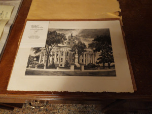 """Old Courthouse"" Print (Madison County Courthouse From 1811-1840)"