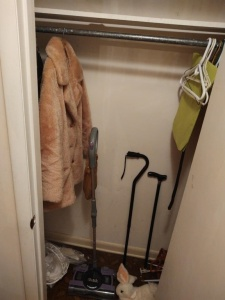 Contents Of Entryway Coat Closet