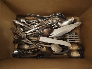 Assorted Silverplated Flatware