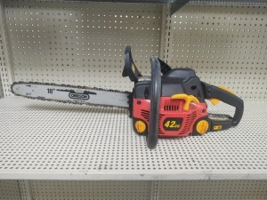 "Homelite 4218C Chain Saw With 18"" Oregon Blade"