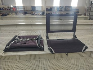 (2) Stadium Seats By Cascade Mountain Tech
