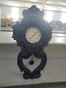 Ornate Wall Pendulum Clock