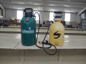 (2) Pump Spray Tanks