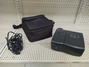 Respironics Cpap Machine With Carry Case