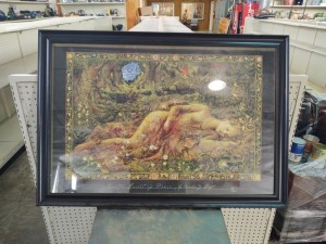 "Framed Print ""In The Forest Of Peace"""